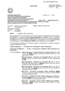 Α3/οικ.7167/902-Ενοποίηση Παραβόλων ΥΜΕ-6ΩΡ1465ΧΘΞ-ΕΞΦ